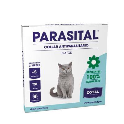 PARASITAL COLLAR GATOS 35 CM