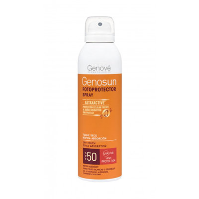 GENOSUN SPF50 SPRAY FOTOPROTECTOR 200ML