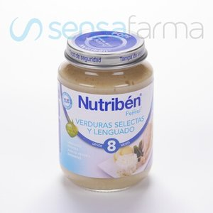 NUTRIBEN JUNIOR LENGUADO VERDURAS
