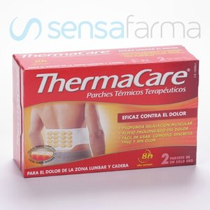 THERMACARE ZONA LUMBAR Y CADERA 2 UD