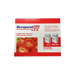 RECUPERATION SUERO ORAL FRESA  2X250 ML