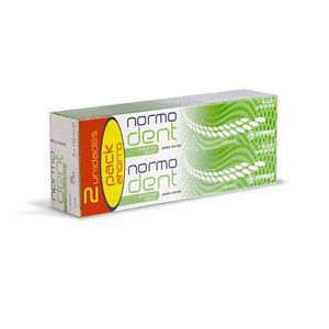NORMODENT ANTICARIES PACK PASTA 2X125ML