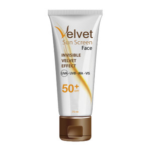 VELVET SUNSCREEN FACIAL SPF50+ 50 ML