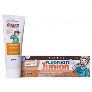 FLUORKIN JUNIOR PASTA DENTAL COLA 75 ML