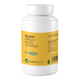 SALMON OIL (OMEGA 3) 500 MG 120P BOTANIC