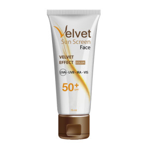 VELVET SUNSCREEN FACIAL SPF50 COLOR