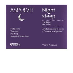 ASPOLVIT NIGHT SLEEP 60 CAPSULAS