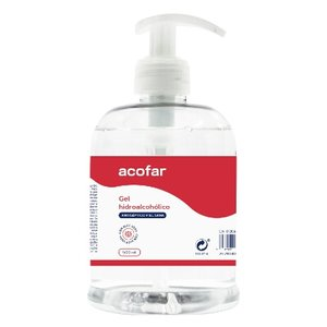 ACOFAR GEL HIDROALCOHOLICO MANOS 500 ML