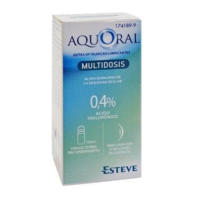 AQUORAL COLIRIO MULTIDOSIS 10 ML