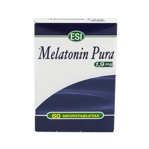 MELATONIN PURA 1.9MG 60 TABLETAS ESI