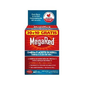 MEGARED 500 OMEGA 3 ACEITE KRILL 30+10