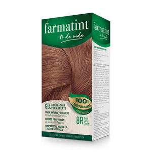 FARMATINT 8R RUBIO CLARO COBRIZO 130 ML