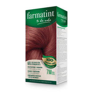 FARMATINT 7M RUBIO CAOBA 130 ML.