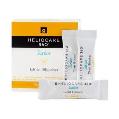 HELIOCARE 360 JUNIOR ORAL STICKS 20X1 GR