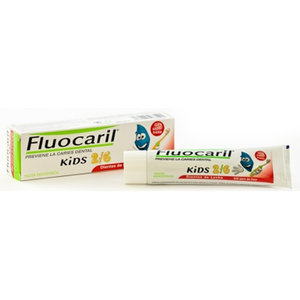 GEL DENTAL FLUOCARIL KIDS FRESA 2-6 A/OS