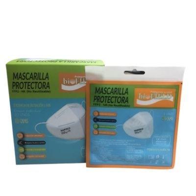 MASCARILLAS FFP2 NR BIOFIELD BLANCAS 20U