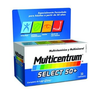MULTICENTRUM LUTEINA SELECT 50+ COMP 30
