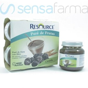 RESOURCE PURE FRUTAS CIRUELA 4X130G