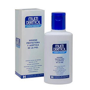 MULTIDERMOL JABON LIQUIDO 150 ML.